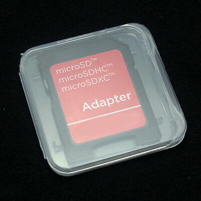 100PCS SD RS MMC Memory CardS Thick plastic Protection box Cases Adapters