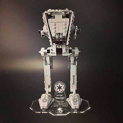 Display stand for LEGO Star Wars: AT-ST Walker (75153)
