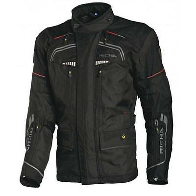 Richa Infinity Textile Motorcycle Bike Jacket With D30 Shoulder/Back/Elbow Armor