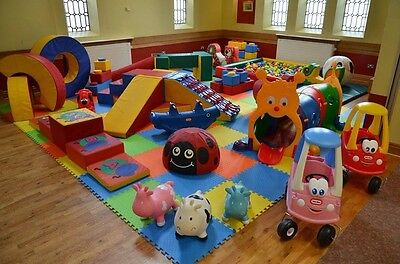 Soft Play & Bouncy Castle Hire Business- North West Based