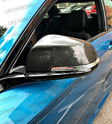 Carbon Fibre Wing Mirror Full Replacement Covers Bmw F20 F21 F22 F30 F31 F32 F33