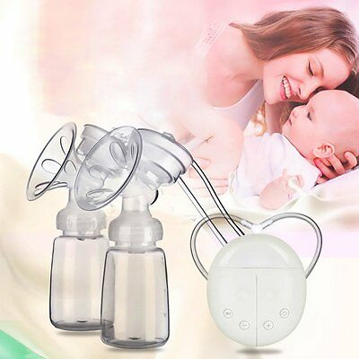 Electric Breast Pump Automatic Double Intelligent Handfree Baby Feeder USB