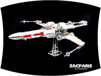 DISPLAY STAND for Lego 9493 75102 75149  X-Wing Starfighter - Clear acrylic!
