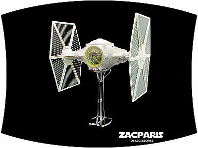 Display stand for Vintage Star Wars Tie Fighter kenner hasbro - A must to have!