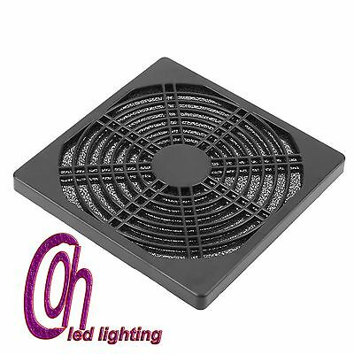 120mm Dustproof Case Cover Fan Dust Proof Filter Mesh Guard For PC Computer