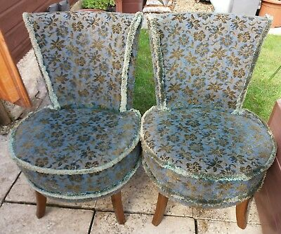 pair of vintage slipper/nursing/bedroom chairs