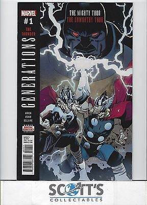 Generations - The Unworthy Thor And Mighty Thor  #1   New  (Bagged & Boarded)