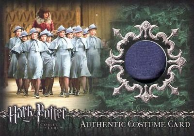 Harry Potter and the Goblet of Fire Beauxbatons Students Costume Card HP C7 #676