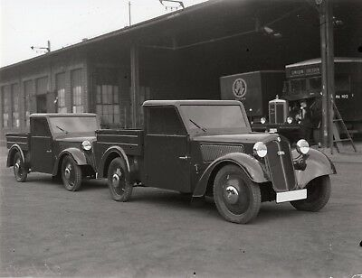 DKW F5 Pick Up AUTO UNION Werksfoto Friedrich Meiche