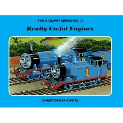SIGNED The Railway Series No.27 Really Useful Engines by Christopher Awdry New