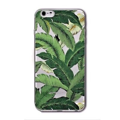 Banana Leaf Leaves Tropical Plant Clear Soft Case Cover - iPhone 5/5s/SE 6/6s 7