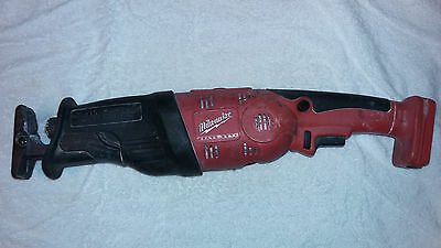 Milwaukee Cordless Reciprocating Saw Sawzall 18V Tool Only Power Tools Tool