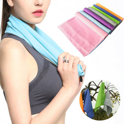 3 Size Fast Drying Microfibre Sports Travel Gym Beach Swim Camping Bath Towel