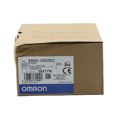 Omron Rotary Encoder E6B2-CWZ6C 1000P/R DC 5V-24V New One year warranty