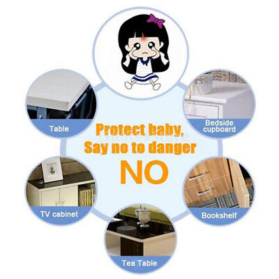 Baby Safety Corner Desk Edge Bumper Protection Cover Protector Table Cushion