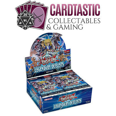 Yu-Gi-Oh! Legendary Duelists Booster Box PREORDER