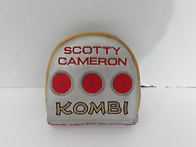 2009 SCOTTY CAMERON Kombi Putter Cover Used - Golf Replacement COver