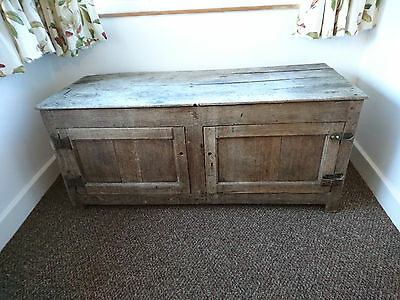 Antique Oak Chest with character