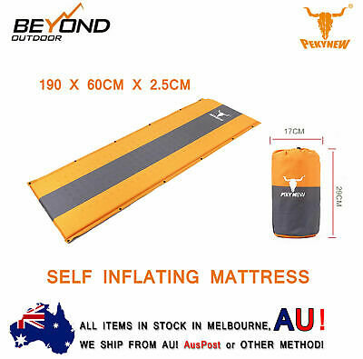 New Arrival Self Inflating Mattress Sleeping Mat Air Bed Camping Hiking Joinable