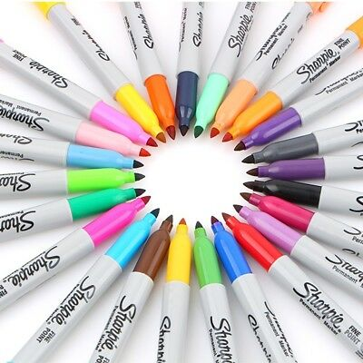 Sharpie Fine Point Permanent Marker 24 colors - Choose One - Single Marker