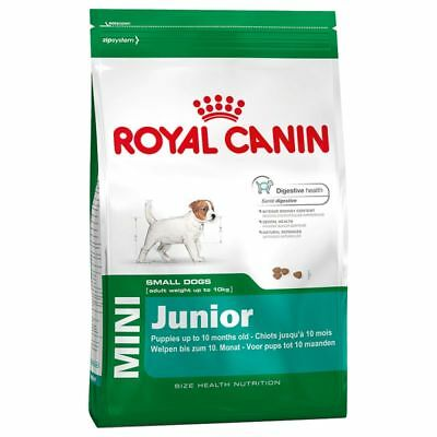 Royal Canin Mini Junior Dry Dog Food 2kg 4kg 8kg 16kg