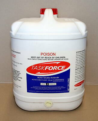 TASKFORCE WATER SOLUBLE HERBICIDE 20-Litre (Flupropanate)