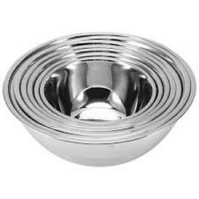 Stainless Steel Deep Mixing Salad Bowl Different Sizes Salad Bakeware Dough Set