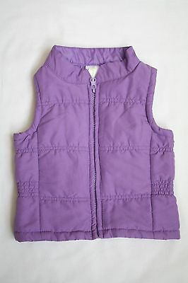 DYMPLES size 0 Baby Girl winter jacket / vest GREAT CONDITION