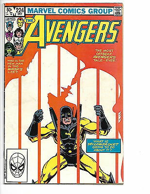 Avengers # 224 - Bronze Age - Solid VG+ (4.5) Lower Mid Grade