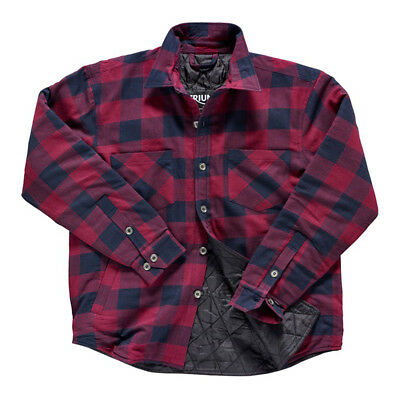 Triumph Motorcycles Plaid Riding Shirt Sweatshirt Sweater Black/Red MTHS17108