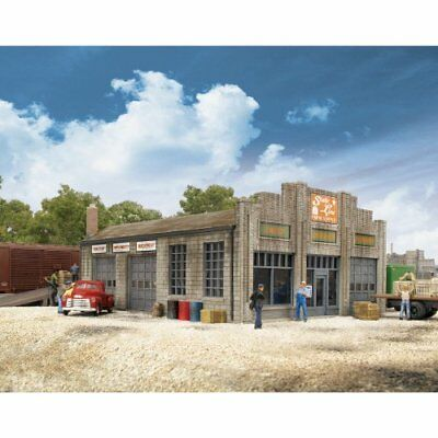 Walthers Cornerstone Series174 N Scale State Line Farm Supply 3-1/4 x 4-1/4 x x