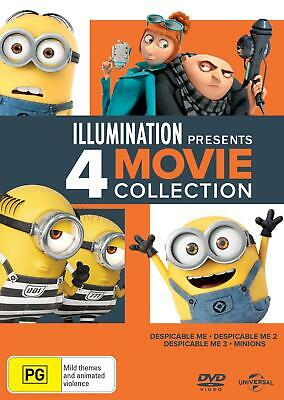 Despicable Me: 4 Movie Collection - DVD Region 4 Free Shipping!
