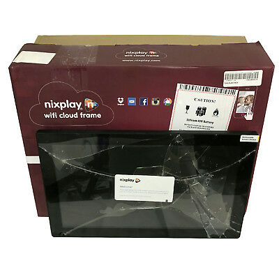 SOLD FOR PARTS: Nixplay Wifi Cloud Photo Frame