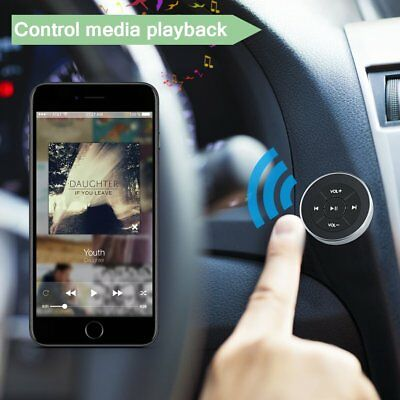 MP3 Music Play Button Remote  Bluetooth Universal Car Wireless Steering Wheel