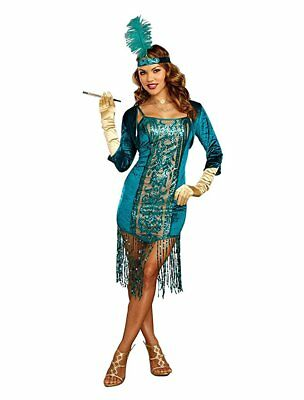 Dreamgirl High Society Flapper 1920's Adult Womens Halloween Costume 10701