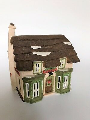 """Dickens Village Dept 56 """"Cottage Toy Shop"""" 6507-2, w/Box and Light"""