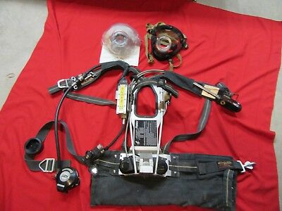 Scott 2.2 AP50 SCBA w/ HUD Integrated PASS & RIT/UAC,BAIL OUT RESCUE ROPE MASK