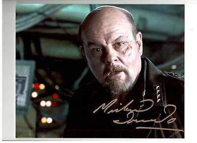 Michael Ironside Authentic Signed Autograph Montreal Comiccon 2016 Starship Troo