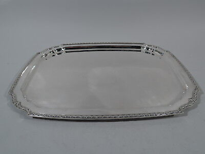 Tiffany Tray - 20025 - Antique Large Heavy Serving - American Sterling Silver
