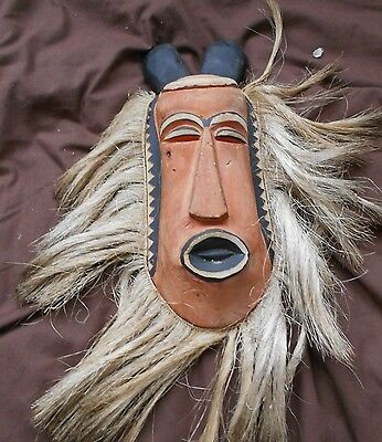 small South African tribal mask