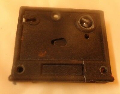 Vintage Door Lock Good For Parts Black