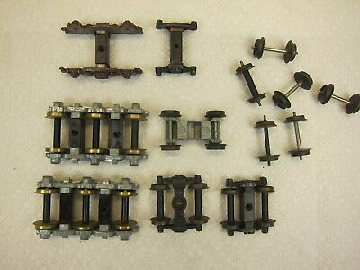 "Vintage ""oo"" Gauge Train Trucks & Wheel Sets-Free Shipping-Look!"