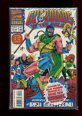 GUARDIANS OF THE GALAXY ANNUAL 3(9.4)(NM)STARLORD-MARVEL(b031)