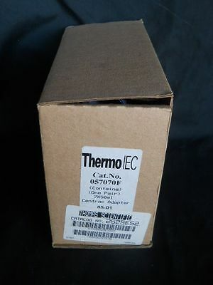 NEW IN BOX Centrifuge Adapters, Thermo Fisher 057070F, 50 ml x 7