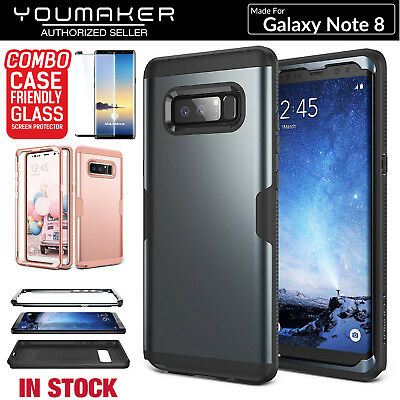 YOUMAKER® Samsung Galaxy Note 8 Slim HEAVY DUTY Shockproof Case Cover