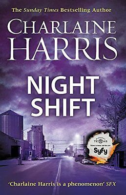 Night Shift: Now a major new TV series: M by Charlaine Harris New Paperback Book