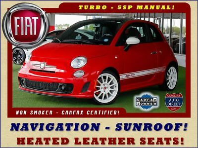 2013 Fiat 500 Abarth FWD - NAVIGATION-SUNROOF-HEATED LEATHER!