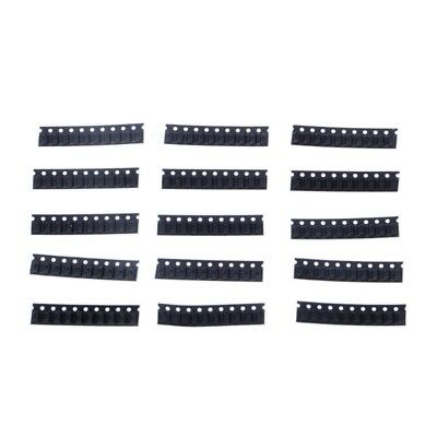 150 Pcs SOD123 1206 0.5W SMD Zener Diode 3V-24V 1N4148 15 Values Assortment Kit