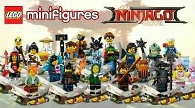 Lego Ninjago Movie Minifigures 71019 Sealed-Complete Set Of 20-Brand New Packets