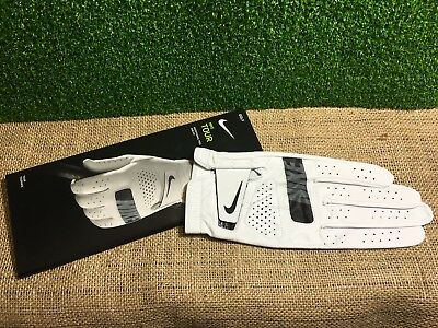 Mens Nike Tour Leather Golf Glove, Left Hand Fit for a Right Handed Golfer, NEW